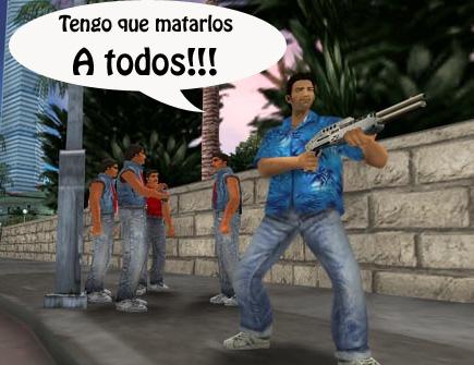 GTA ¿Asesinos?