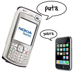 Nokia N70 Vs iPhone