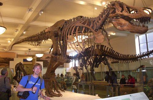 En el Museo de Historia Natural