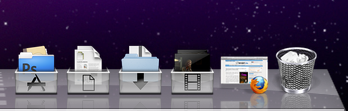 Overlay Icons Mac Dock