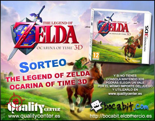 Sorteo Zelda