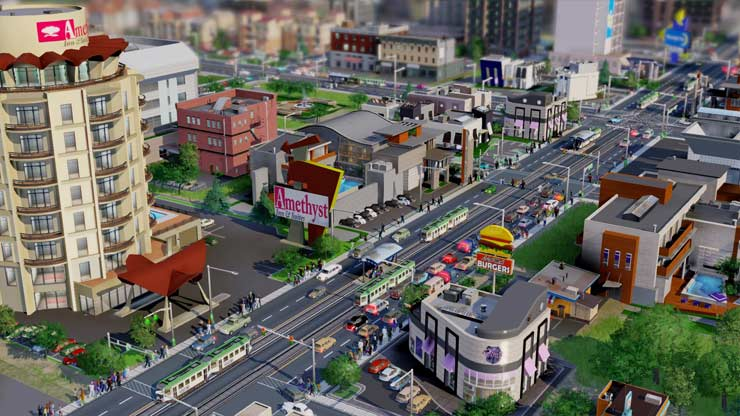 Captura de SImcity 5